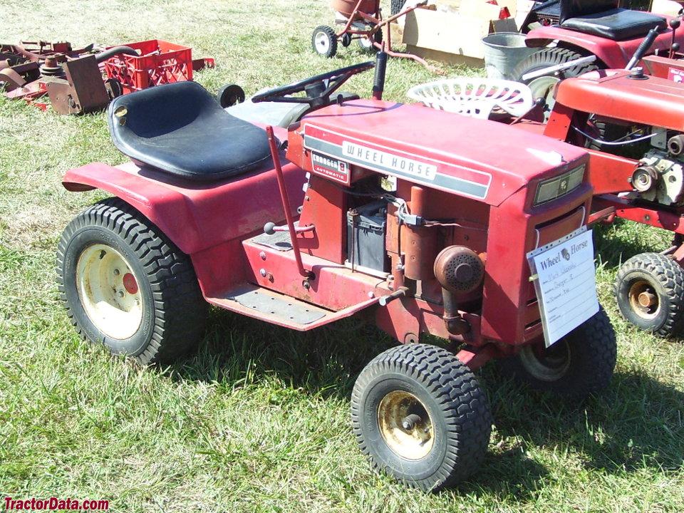 Wheel Horse Charger V8