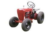 Wheel Horse RJ-25 lawn tractor photo