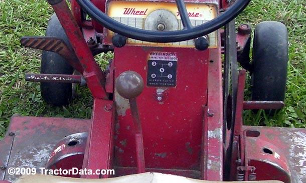 Wheel Horse Lawn Ranger 32 Uni-Drive transmission photo