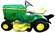John Deere 100 lawn tractor photo