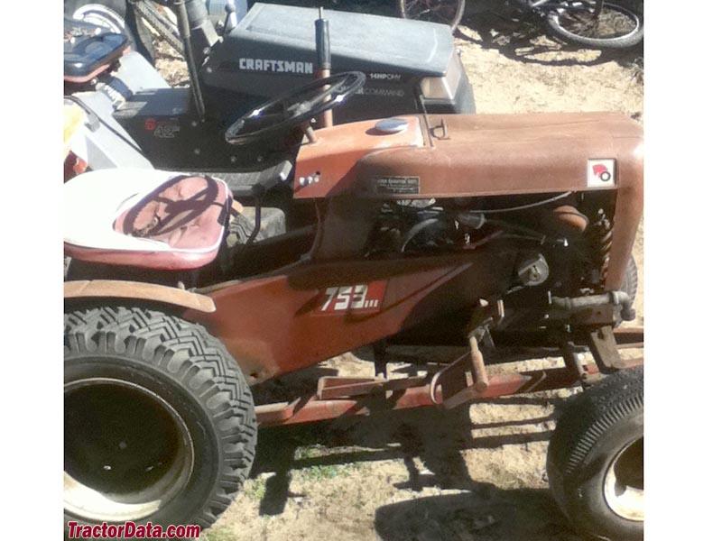 Wheel Horse 753