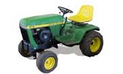 John Deere 312 lawn tractor photo