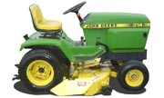 John Deere 314 lawn tractor photo