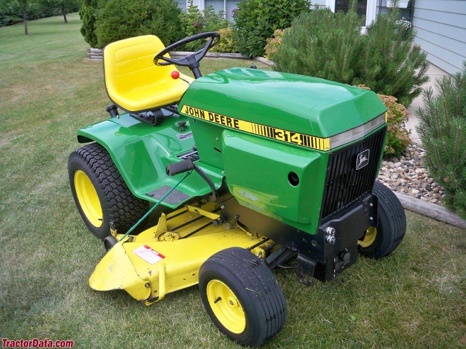 Tractordata Com John Deere 314 Tractor Information