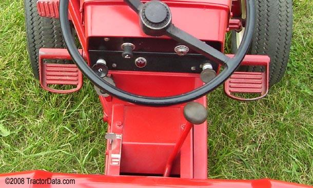Wheel Horse 857 Uni-Drive transmission photo