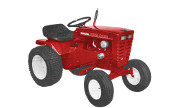 Wheel Horse 1067 lawn tractor photo