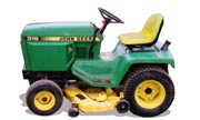 John Deere 316 lawn tractor photo