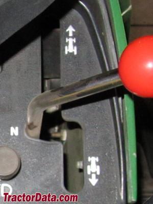 John Deere 318 transmission controls