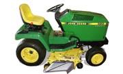 John Deere 320 lawn tractor photo