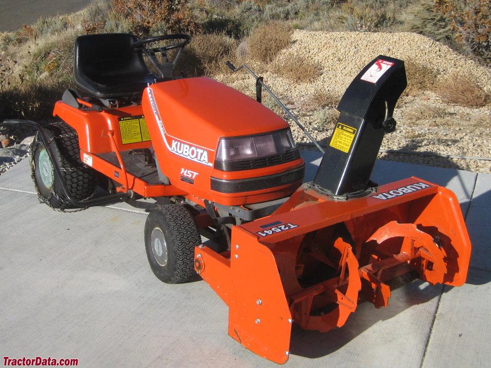 Kubota T1700X with T2541 snowblower.