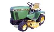 John Deere 322 lawn tractor photo
