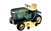 John Deere 330 lawn tractor photo