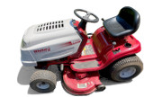 White LT 542G lawn tractor photo