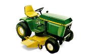 John Deere 400 lawn tractor photo