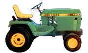 John Deere 420 lawn tractor photo