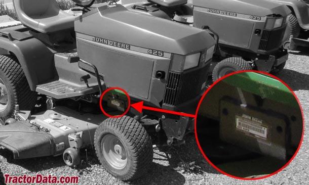 john deere 425 lawn tractor mower wiring schematics tractordata com john deere 425 tractor information  tractordata com john deere 425 tractor