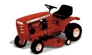 Wheel Horse B-81 lawn tractor photo