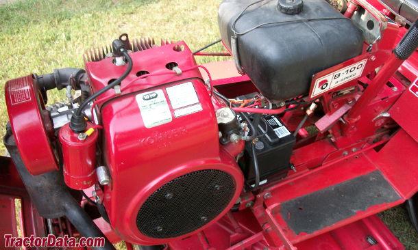 Wheel Horse B-100  engine photo