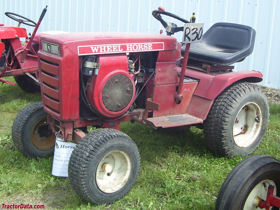 Wheel Horse C-161 8-speed.