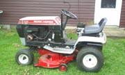 Wheel Horse LT-1137 Work Horse lawn tractor photo