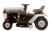 White T-85 lawn tractor photo