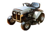 White T-100 lawn tractor photo