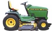 John Deere GT242 lawn tractor photo