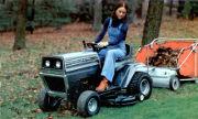 White T-112 lawn tractor photo