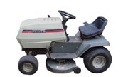 White LT-125 lawn tractor photo