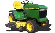 John Deere GT275 lawn tractor photo
