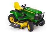 John Deere X729 lawn tractor photo