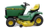 John Deere LX173 lawn tractor photo