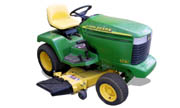 John Deere 325 lawn tractor photo