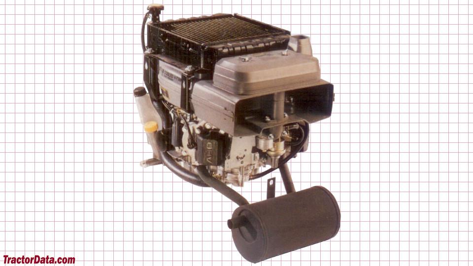 John Deere 345 engine image