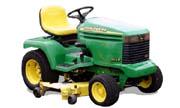 John Deere 355D lawn tractor photo