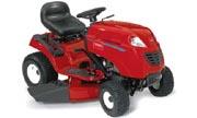 Toro LX420 lawn tractor photo