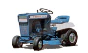 Ford LT-75 lawn tractor photo
