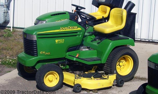 John Deere 345 manual Free