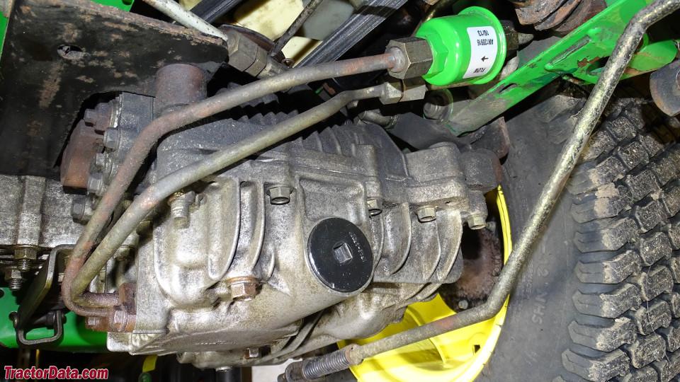 John Deere GX355 transmission image