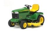 John Deere GX355 lawn tractor photo