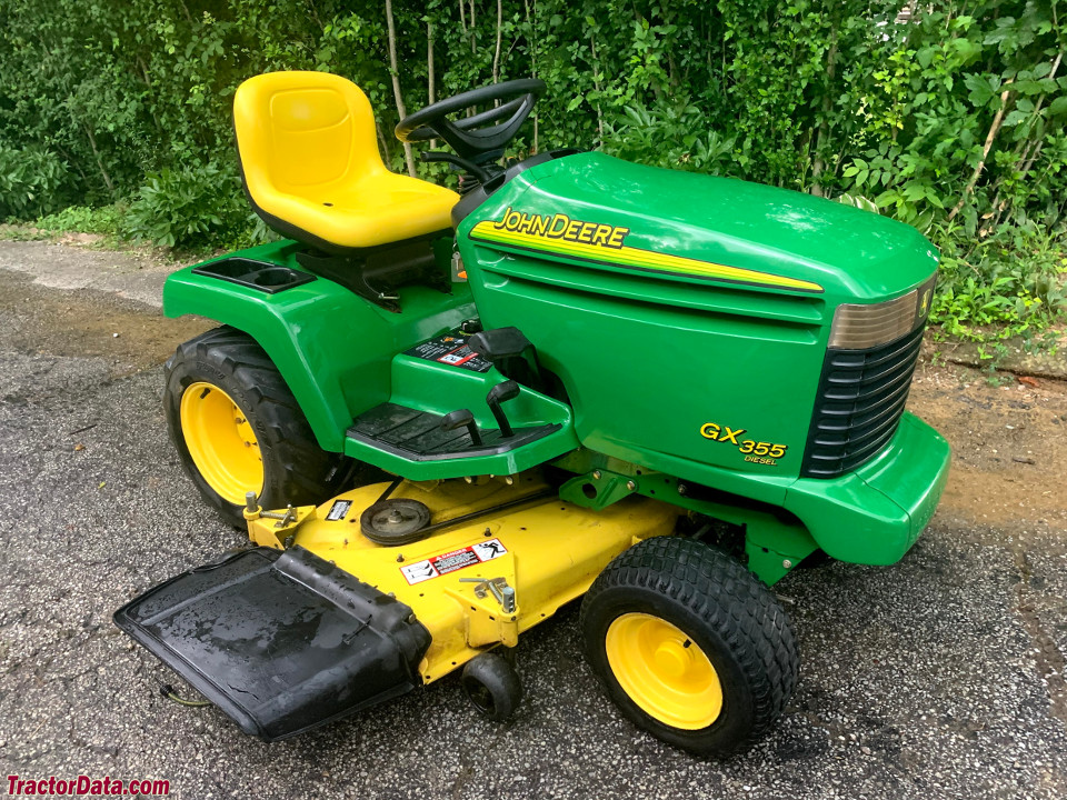 John Deere GX355, right side.