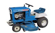 Ford LT-110 lawn tractor photo