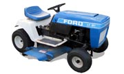 Ford LT-111 lawn tractor photo