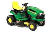 John Deere LA125 lawn tractor photo