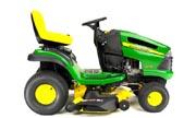 John Deere LA145 lawn tractor photo