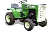 Oliver 125 lawn tractor photo