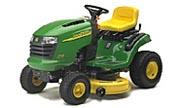 John Deere L110 lawn tractor photo