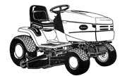 Scotts 42502X lawn tractor photo