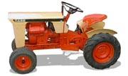 J.I. Case 130 lawn tractor photo