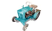 Panzer T75 lawn tractor photo